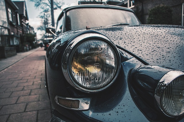 mokré auto