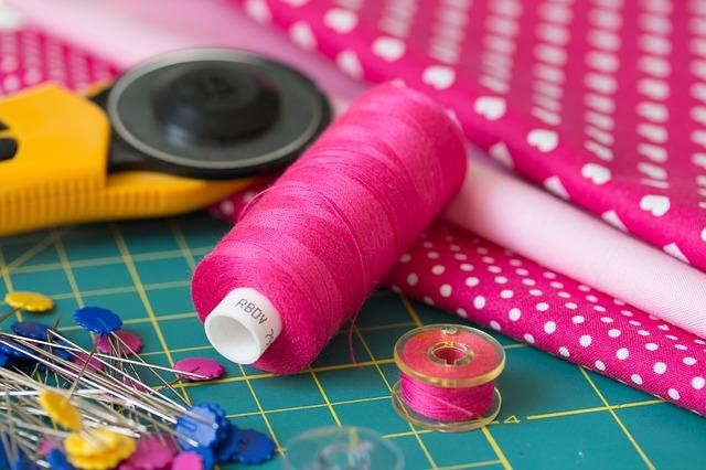 potřeby na šití